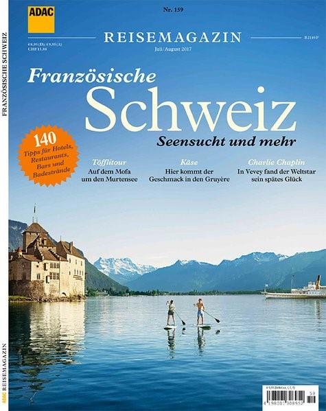 ADAC Reisemagazin Französische Schweiz, 2017 | Buch (Cover)