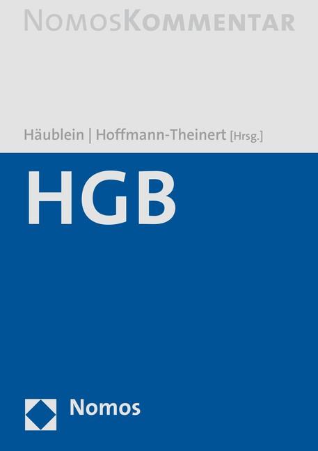HGB | Häublein / Hoffmann-Theinert (Hrsg.) | Buch (Cover)