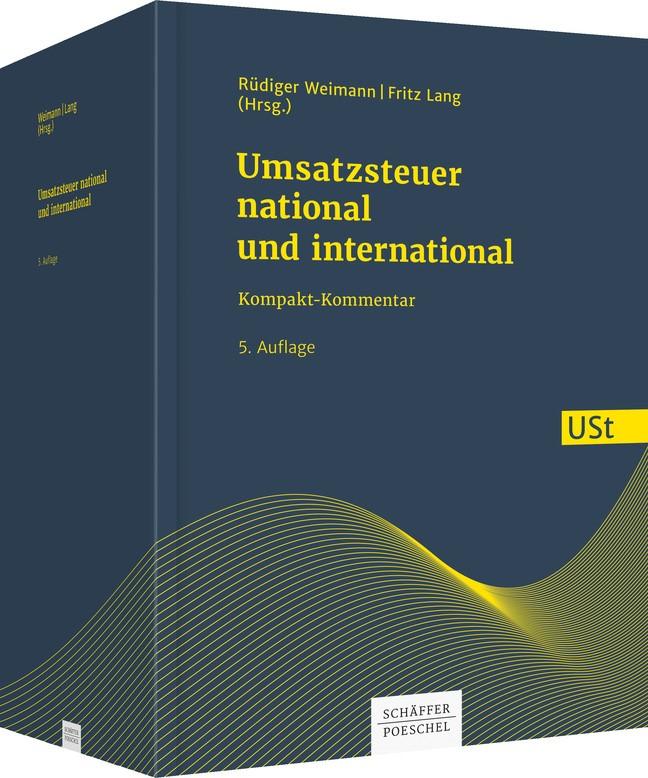 Umsatzsteuer - national und international | Weimann / Lang (Hrsg.) | 5. Auflage, 2018 | Buch (Cover)