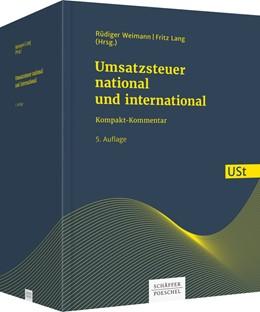 Abbildung von Weimann / Lang (Hrsg.) | Umsatzsteuer - national und international | 5. Auflage | 2019 | Kompakt-Kommentar