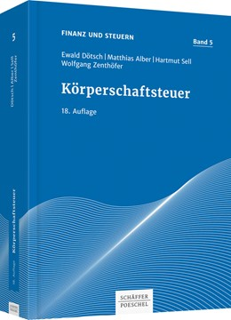 Abbildung von Dötsch / Alber / Sell / Zenthöfer | Körperschaftsteuer | 18. Auflage | 2017 | Band 5
