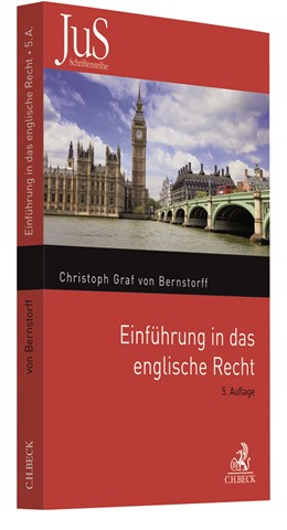 Abbildung von Graf von Bernstorff   Einführung in das englische Recht   5. Auflage   2018   Band 132   beck-shop.de
