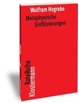 Abbildung von Hogrebe | Metaphysische Einflüsterungen | 2017