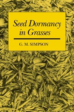 Abbildung von Simpson | Seed Dormancy in Grasses | 1990
