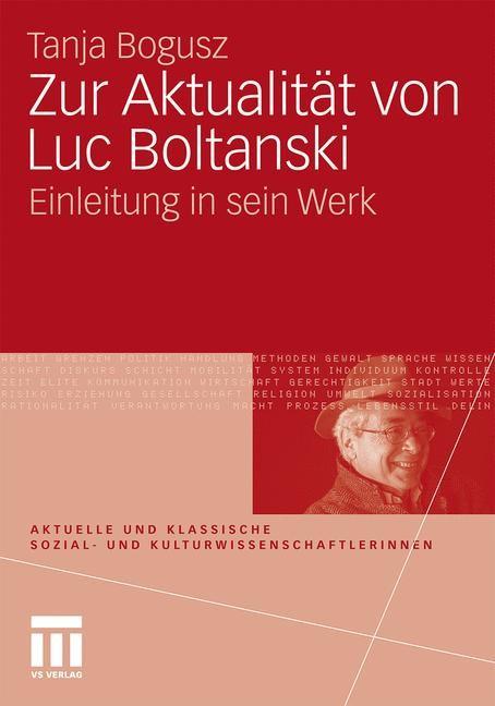 Abbildung von Bogusz | Zur Aktualität von Luc Boltanski | 2010