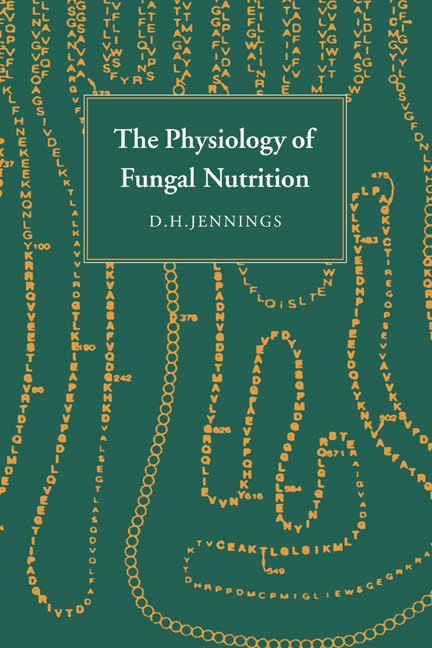 Abbildung von Jennings   The Physiology of Fungal Nutrition   1995