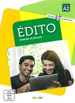 Abbildung von Abou-Samra / Braud | Édito A2. Livre élève + CD MP3 + DVD | 1. Auflage | 2017 | beck-shop.de