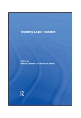 Abbildung von Bintliff / Alford | Teaching Legal Research | 2010