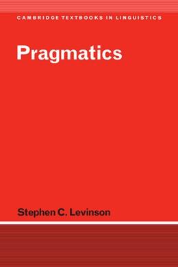 Abbildung von Levinson | Pragmatics | 1983