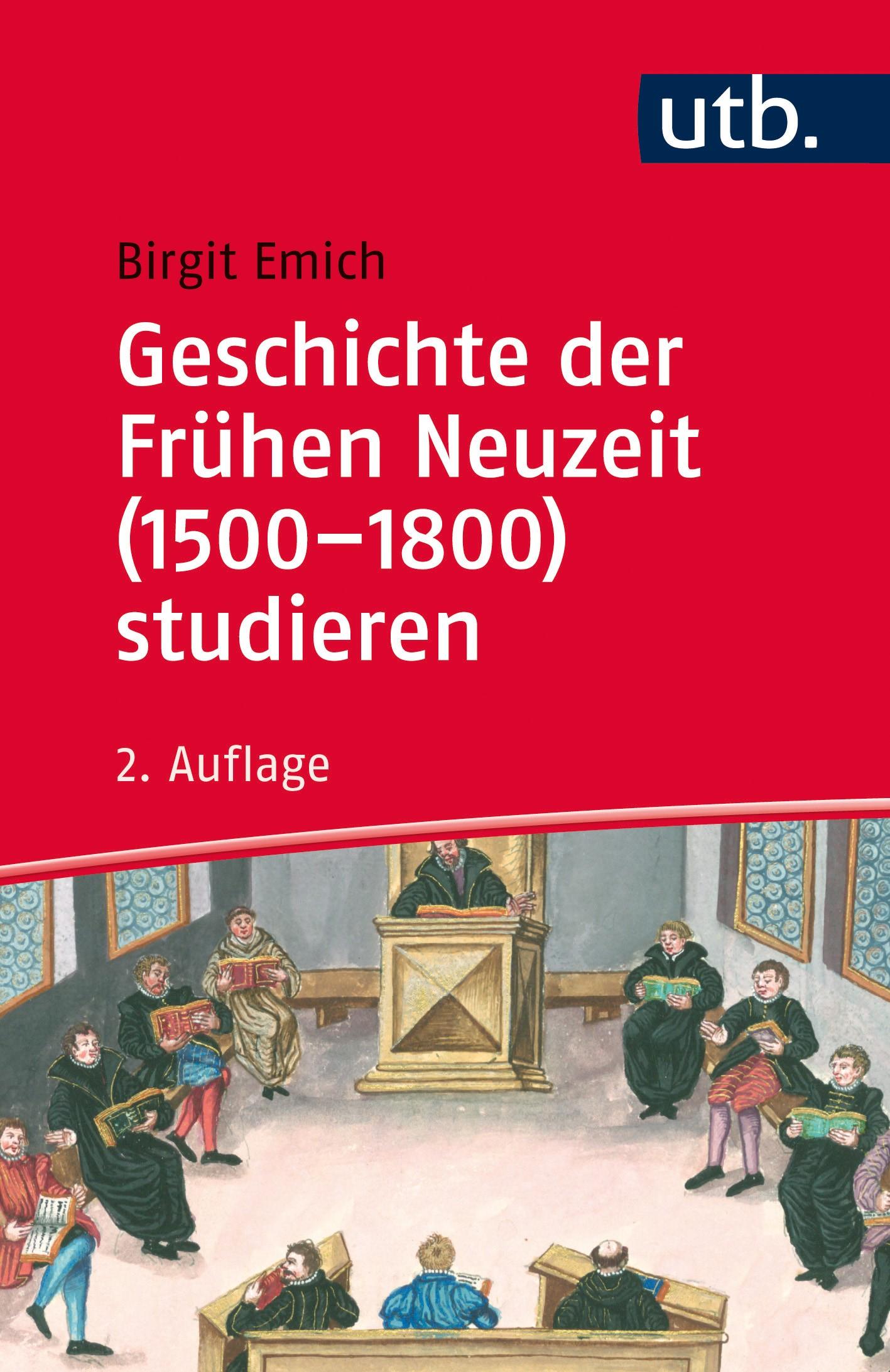 Geschichte der Frühen Neuzeit (1500-1800) studieren | Emich | 2., aktualisierte Auflage, 2019 | Buch (Cover)