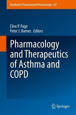 Abbildung von Page / Barnes | Pharmacology and Therapeutics of Asthma and COPD | 1. Auflage | 2017 | 237 | beck-shop.de