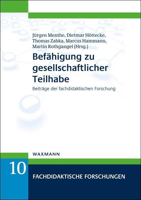 Abbildung von Menthe / Höttecke / Zabka / Hammann / Rothgangel   Befähigung zu gesellschaftlicher Teilhabe   2017