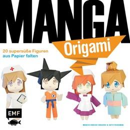 Abbildung von Manga-Origami | 2017 | 20 supersüße Figuren aus Papie...