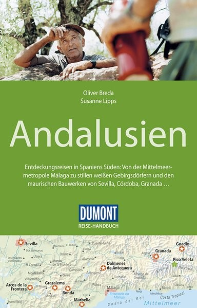 DuMont Reise-Handbuch Reiseführer Andalusien | Lipps / Breda | 4. Auflage, 2017 | Buch (Cover)
