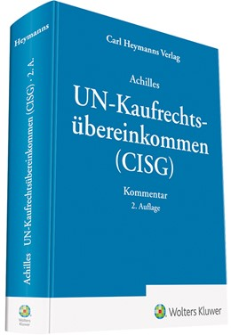 Abbildung von Achilles | UN-Kaufrechtsübereinkommen (CISG) | 2. Auflage | 2018 | beck-shop.de
