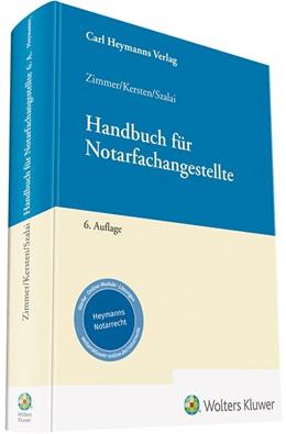 Abbildung von Zimmer / Kersten / Krause | Handbuch für Notarfachangestellte | 6. Auflage | 2019