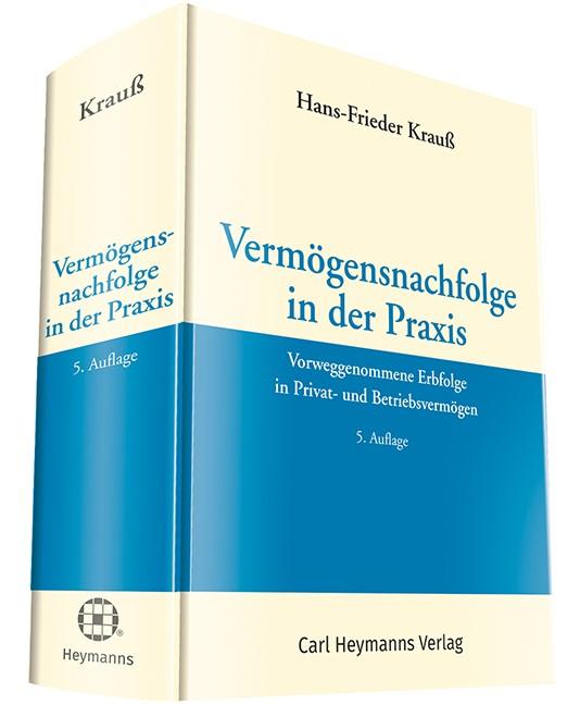 Vermögensnachfolge in der Praxis | Krauß | 5. Auflage., 2017 (Cover)