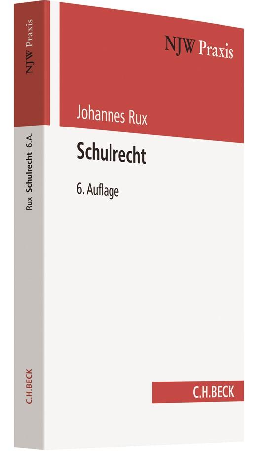 Schulrecht   Rux   6., vollständig neubearbeitete Auflage, 2018   Buch (Cover)
