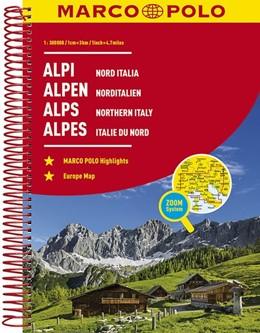 Abbildung von MARCO POLO Reiseatlas Alpen, Norditalien 1:300 000   6. Auflage   2017