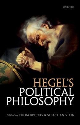 Abbildung von Brooks / Stein | Hegel's Political Philosophy | 2017 | On the Normative Significance ...