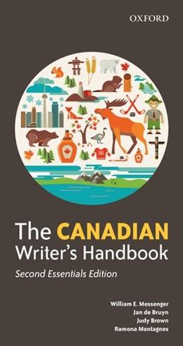 Abbildung von Messenger / de Bruyn / Brown | The Canadian Writer's Handbook | 2017