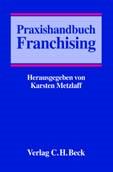 Praxishandbuch Franchising   Metzlaff, 2003   Buch (Cover)