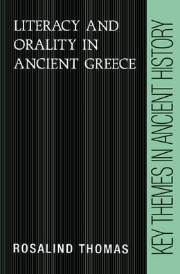Abbildung von Thomas   Literacy and Orality in Ancient Greece   1992