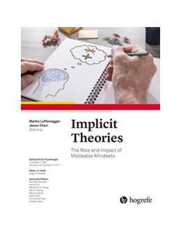 Abbildung von Lüftenegger / Chen | Implicit Theories | 1. Auflage | 2017 | beck-shop.de