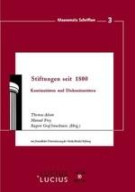 Stiftungen seit 1800 | Adam / Frey / Strachwitz, 2009 | Buch (Cover)