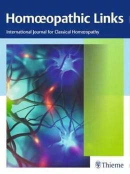 Abbildung von Homoeopathic Links   Volume 32   2019