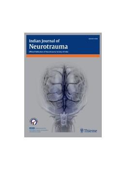 Abbildung von Indian Journal of Neurotrauma | 1. Auflage | 2019 | beck-shop.de
