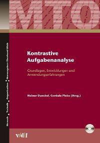 Kontrastive Aufgabenanalyse | Dunckel / Pleiss, 2006 | Buch (Cover)