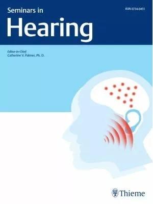 Seminars in Hearing | Volume 39, 2016 (Cover)