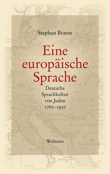 Eine europäische Sprache | Braese, 2010 | Buch (Cover)