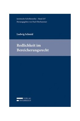 Abbildung von Schmid | Redlichkeit im Bereicherungsrecht | 2016