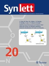 Synlett | Volume 29, 2016 (Cover)