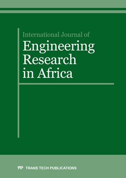 Abbildung von International Journal of Engineering Research in Africa Vol. 27 | 1. Auflage | 2016 | Volume 27 | beck-shop.de