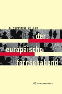 Der europäische Fernsehabend | Müller, 1999 | Buch (Cover)