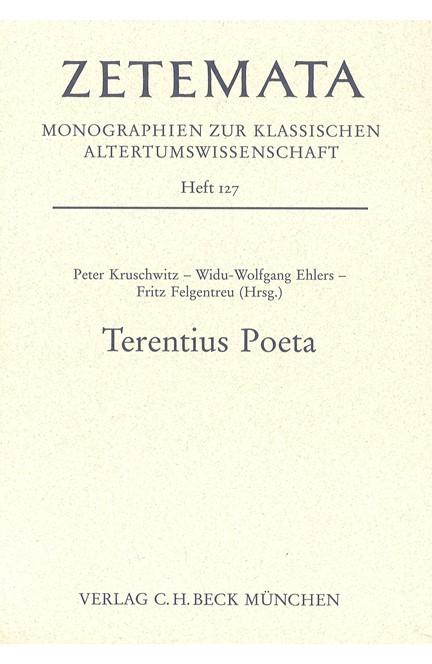 Cover: , Terentius Poeta