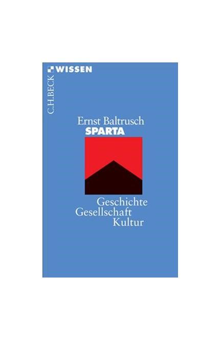 Cover: Ernst Baltrusch, Sparta