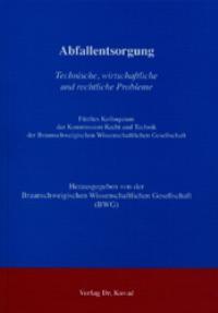 Abfallentsorgung, 2003 | Buch (Cover)
