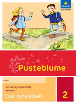 Abbildung von Pusteblume. Das Sprachbuch 2. Arbeitsheft + Lernentwicklungsheft. Schulausgangsschrift. Sachsen | 1. Auflage | 2017 | beck-shop.de