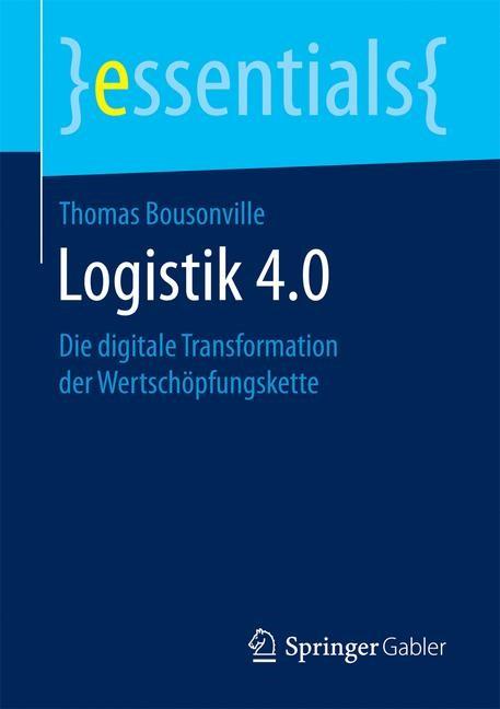 Logistik 4.0 | Bousonville | 1. Aufl. 2017, 2017 | Buch (Cover)