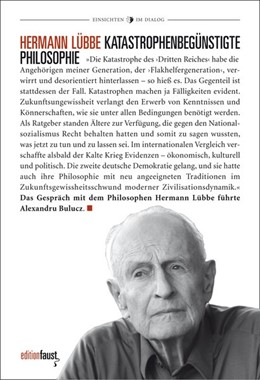 Abbildung von Lübbe | Katastrophenbegünstigte Philosophie | 1. Auflage | 2021 | beck-shop.de