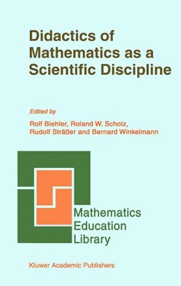 Abbildung von Biehler / Scholz / Sträßer / Winkelmann | Didactics of Mathematics as a Scientific Discipline | 1993 | 13
