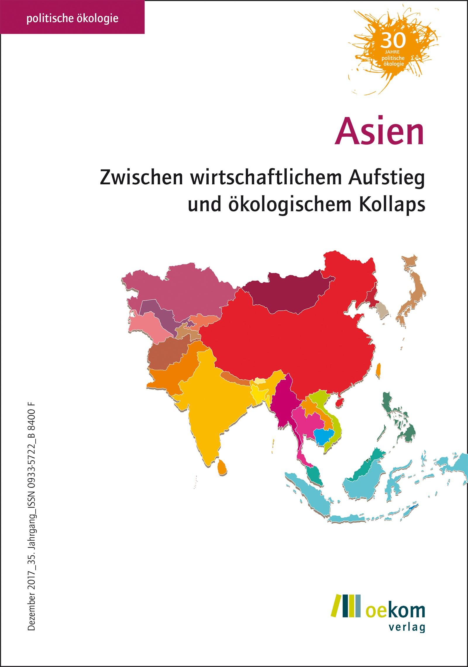 Asien | oekom e. V., 2017 | Buch (Cover)