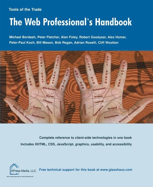 The Web Professional's Handbook | Bordash / Fletcher / Foley | 1st ed., 2003 | Buch (Cover)