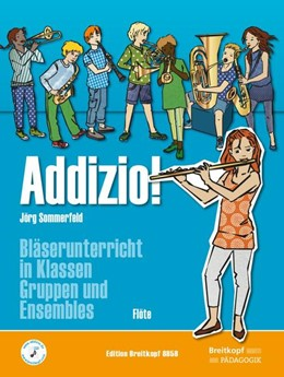 Abbildung von Sommerfeld   Addizio! Schülerheft Flöte   1. Auflage   2016   beck-shop.de