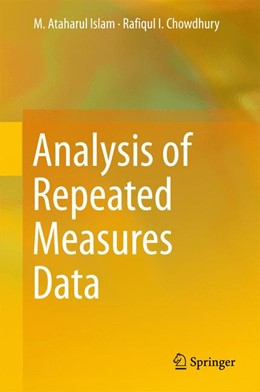 Abbildung von Islam / Chowdhury | Analysis of Repeated Measures Data | 1. Auflage | 2017 | beck-shop.de