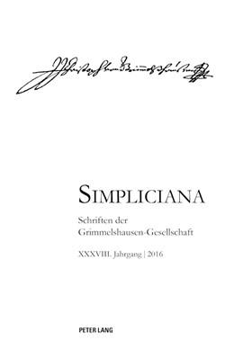 Abbildung von Heßelmann | Simpliciana XXXVIII (2016) | 2017 | 38
